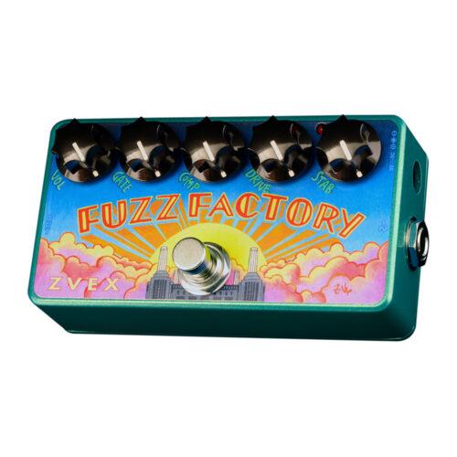 Zvex Fuzz Factory Vexter 25th Anniversary 2021 - angled view