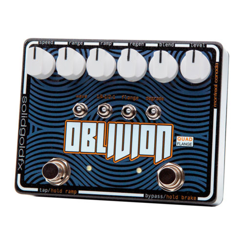 SolidGoldFX Oblivion flanger - right angle view