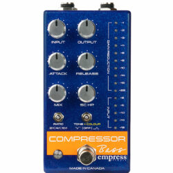 Empress Effects Bass Compressor MKII Blue