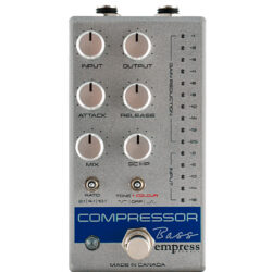Empress Effects Bass Compressor MKII Silver