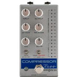 Empress Effects Bass Compressor MKII Silver