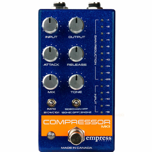 Empress Effects Compressor MKII Blue