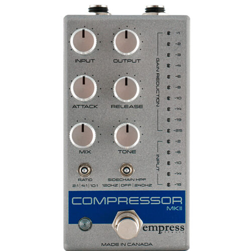 Empress Effects Compressor MKII Silver