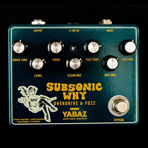 Reuss Subsonic Why Jakob Jørgensen signatur pedal