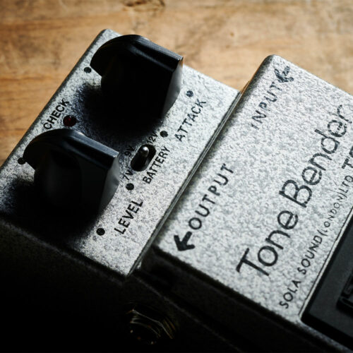 Boss TB-2W Tone Bender - close-up view