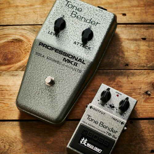 Boss TB-2W Tone Bender - together with SolaSound