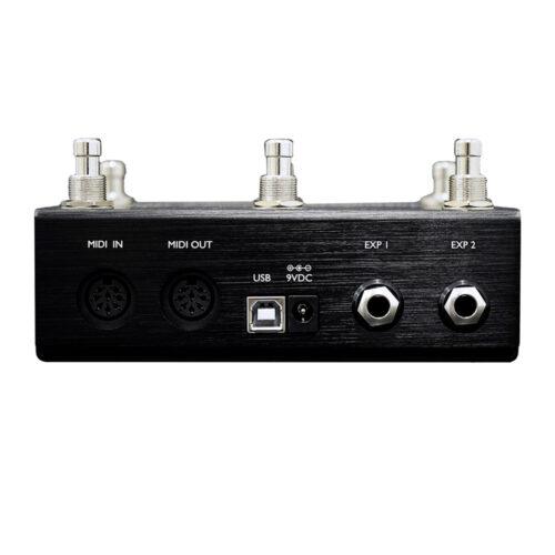 Morningstar MC6 MKII MIDI Controller - rear view