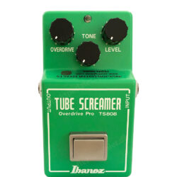 Analog Man Ibanez TS808 True Vintage Mod (NOS TL4558P, superbrigth red LED)