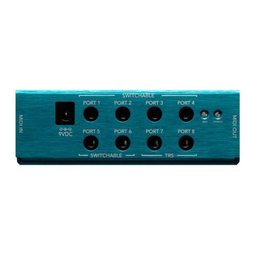 Morningstar MIDI Box - port view