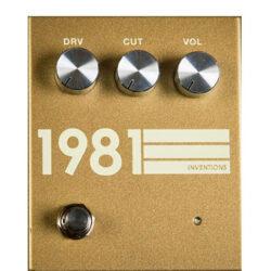 1981 Inventions DRV No. 3 Gold & Cream
