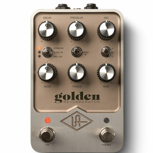 UAFX Golden Reverberator