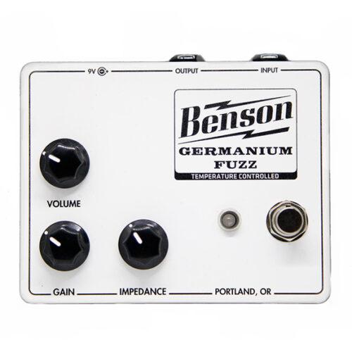 Benson Amps Germanium Fuzz Solar White