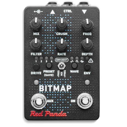 Red Panda Bitmap V2 - front view