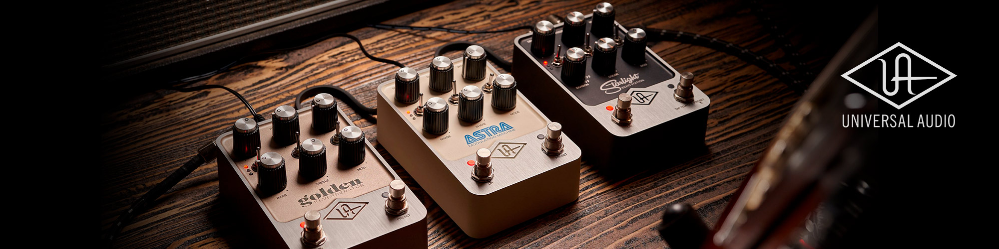 UAFX new pedals
