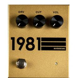 1981 Inventions DRV No. 3 Gold & Black