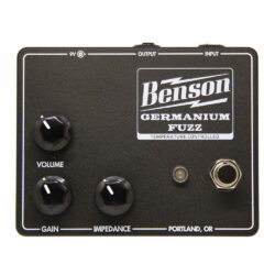 Benson Amps Germanium Fuzz Studio Black