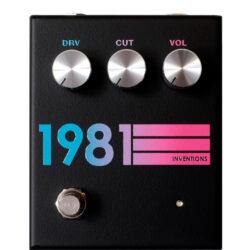 1981 Inventions DRV No. 3 Black Hyperfade
