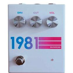 1981 Inventions DRV No. 3 White Hyperfade