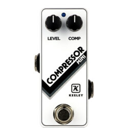 Keeley Compressor Mini Limited Edition Arctic White