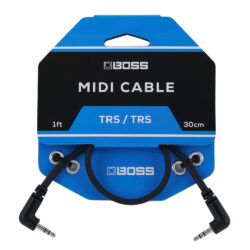 Boss BCC-1-3535 TRS-TRS MIDI cable, 30 cm