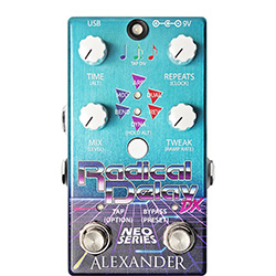Alexander Pedals Radical Delay DX NEO