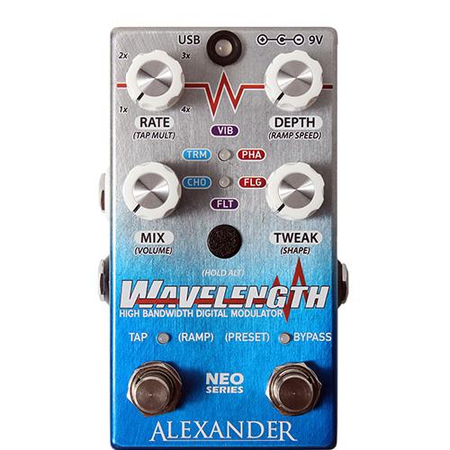 Alexander Pedals Wavelenght