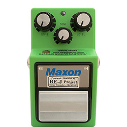 Analog Man Maxon OD-9/808 Silver Mod (superbright red LED)
