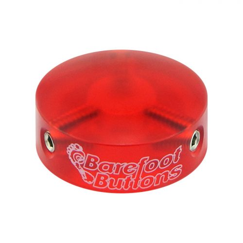 Barefoot Buttons V1 Acrylic Red