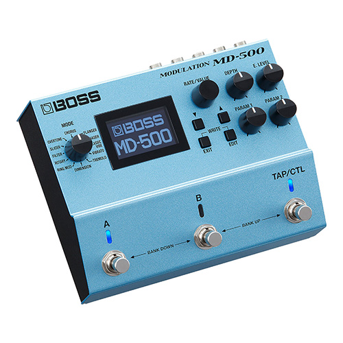 Boss MD-500 Modulation - angled view