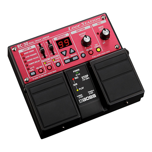 Boss RC-30 Loop Station - angled view