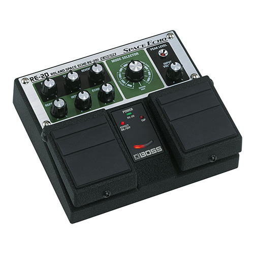 Boss RE-20 Space Echo - angled view