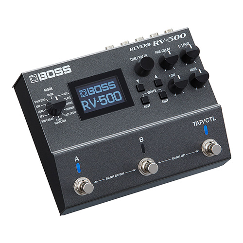 Boss RV-500 Reverb - angled view