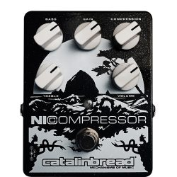 Catalinbread Nicompressor Black & Silver