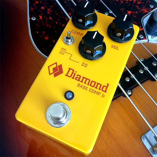 Diamond Pedals Bass Comp JR