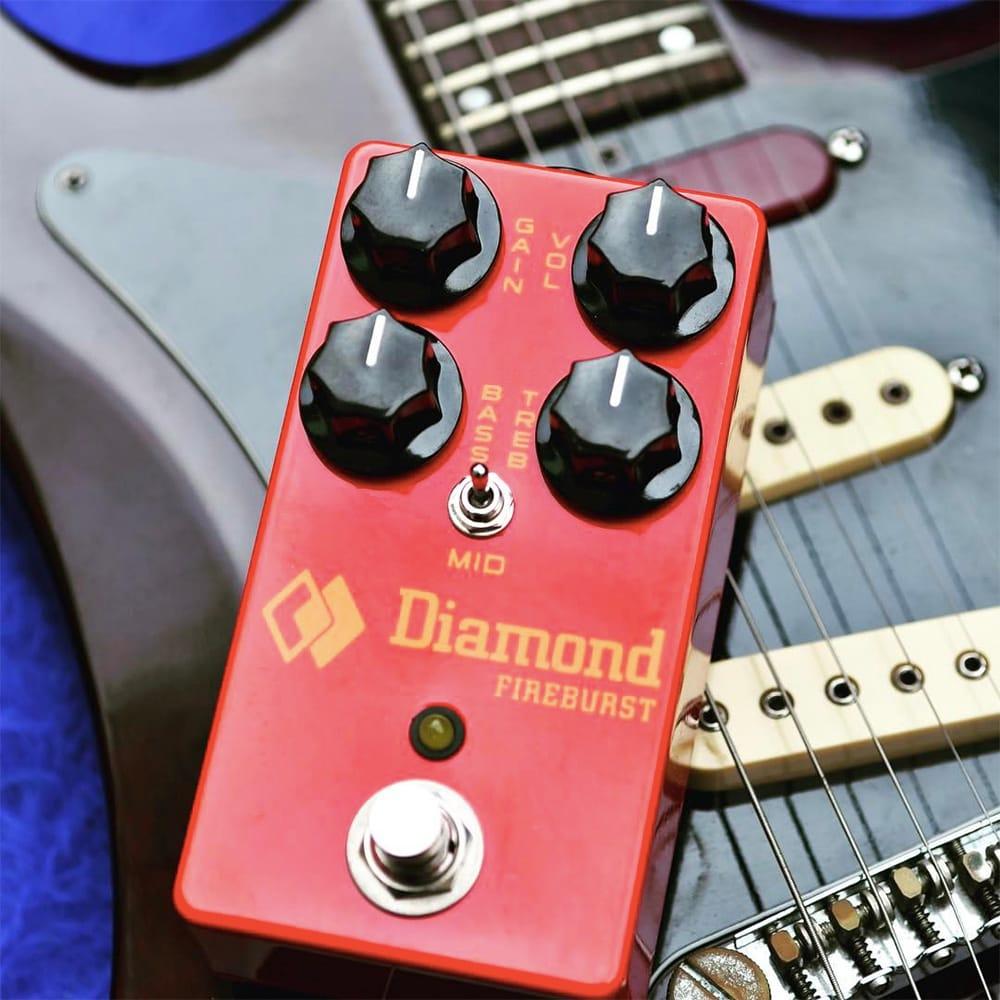 Diamond Pedals Fireburst Compact