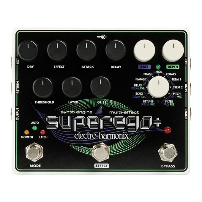 Electro-Harmonix Superego+