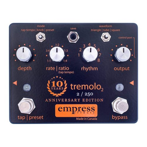 Empress Effects Tremolo2 10th Anniversary Edition