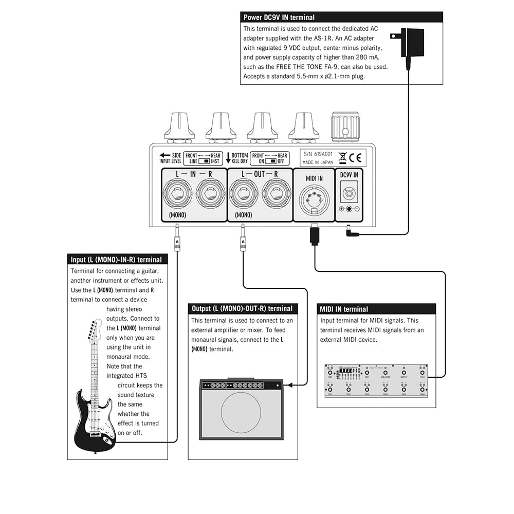 Free The Tone Ambi Space Reverb As 1r 5mm Audio Cable Wiring Diagram Also Expression Pedal