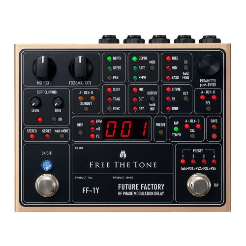 Free The Tone Future Factory RF Phase Modulation Delay FF-1Y
