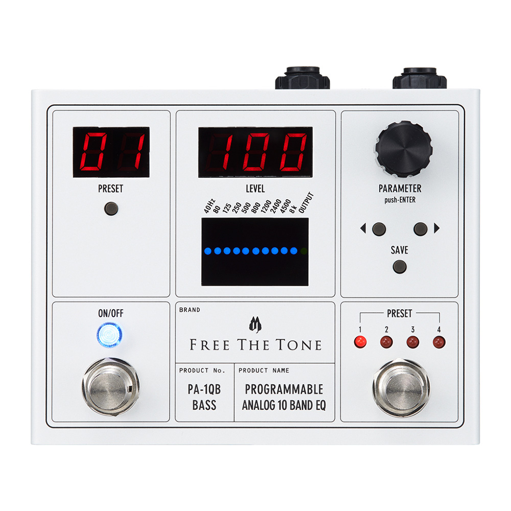 Free The Tone Programmable Analog 10 Band EQ PA-1QB