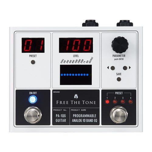 Free The Tone Programmable Analog 10 Band EQ PA-1QG