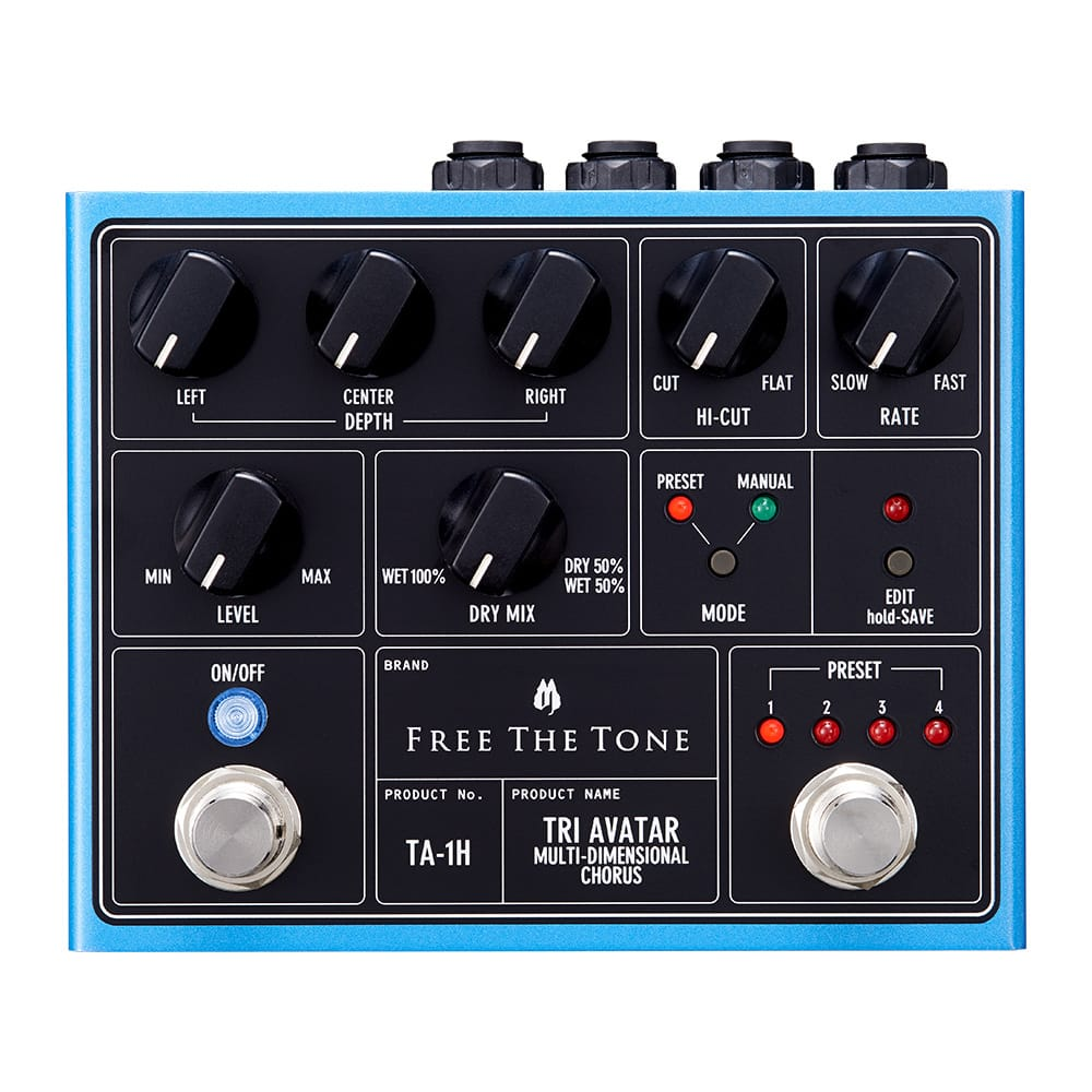 Free The Tone Tri Avatar Multidimensional Chorus TA-1H