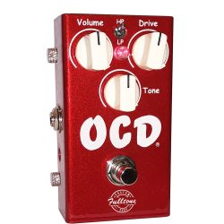 Fulltone OCD Candy Apple Red limited Custom Shop