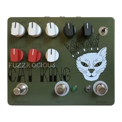 Fuzzrocious Pedals Cat King