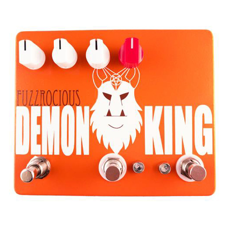 Fuzzrocious Pedals Demon King