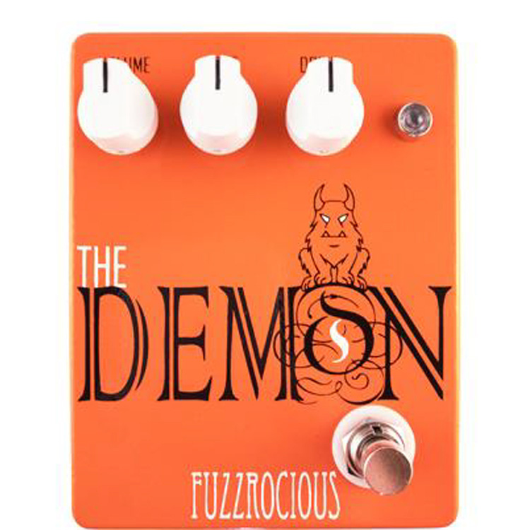 Fuzzrocious Pedals The Demon