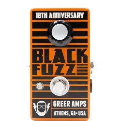 Greer Amps Black Fuzz 18th Anniversary