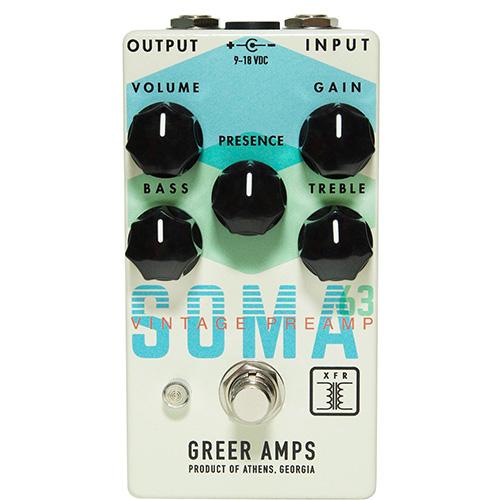 Greer Amps Soma 63