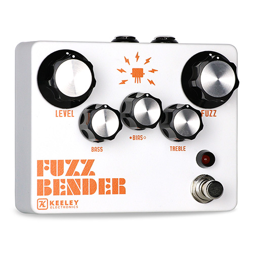 Keeley Fuzz Bender - angled view