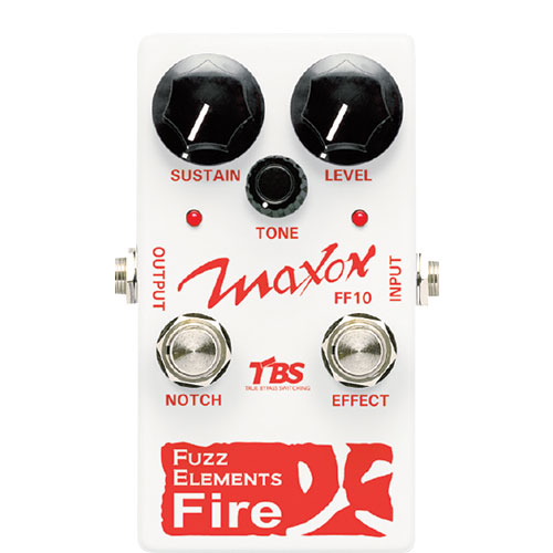 Maxon FF-10 Fuzz Elements Fire